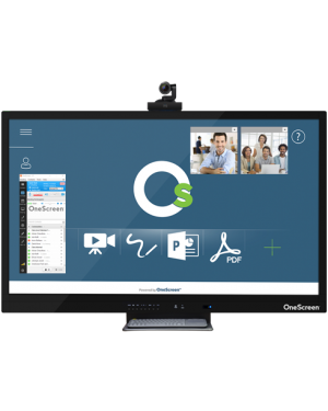 Clary OneScreen Hubware 75''-H4  Video Collaboration Solution