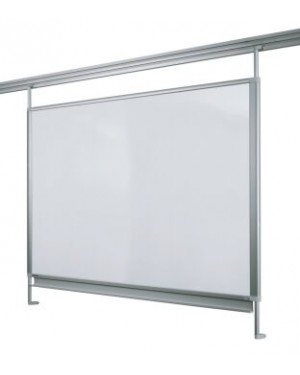 Legamaster Whiteboard for Legaline Dynamic 100x100 cm Anodised Aluminium