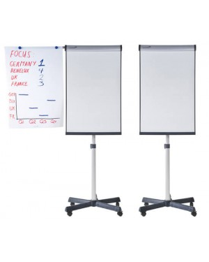 Legamaster Universal Mobile Flipchart Triangle (Lacquered Steel)