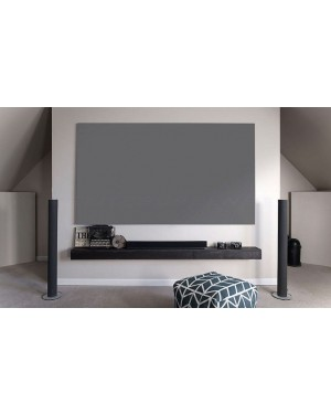 "Parelluxe 106"" Diagonal - 16:9 Aspect Ratio Ambient Light Rejecting (ALR) Fixed Frame Projector Screen"