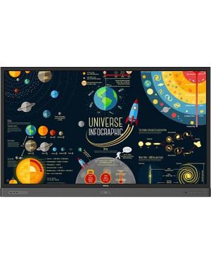 "BenQ RP7501K 4K UHD 75"" Education Interactive Flat Panel Display"