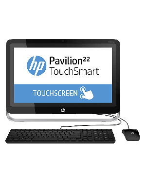HP Pavilion 22-h010ee TouchSmart (F9R19EA) (Core i3, 500GB, 4GB, Win 8.1)