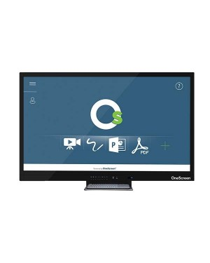"""OneScreen Clary 65"""" 4k UHD Touch Screen Led - 20 Points Touch"""