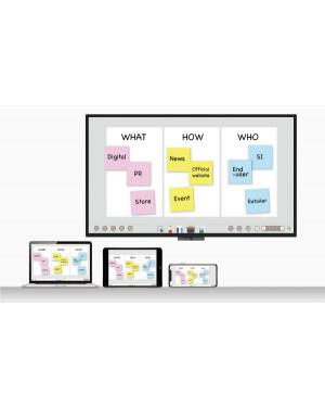 """BenQ CP8601K 86"""" 4K Interactive Touchscreen Flat Panel"""