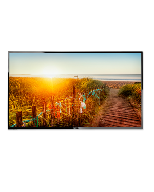 NEC 55'' E-Series Large Format Display 350cd/m2 Direct LED Backlight 12/7 MultiSync E556