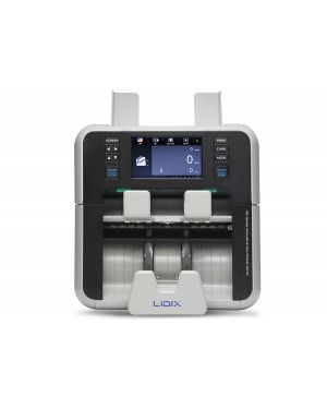 LIDIX ML-2F Heavy Duty 20 Currencies Cash Counting And Sorting Machine 2 Pockets