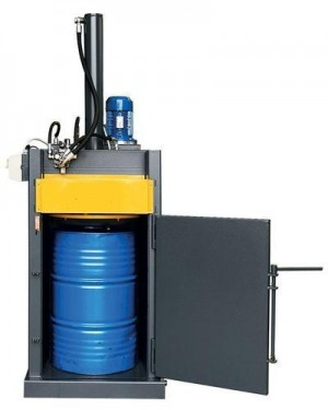 GY-T30 Hydraulic Power Drum Crusher (Vertical Baler)