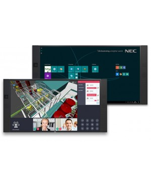 "NEC InfinityBoard 84"" 4K UHD All-in-One Collaboration Solution"