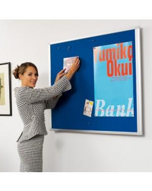 Legamaster Dynamic Felt Pinboard 90x120 cm Blue
