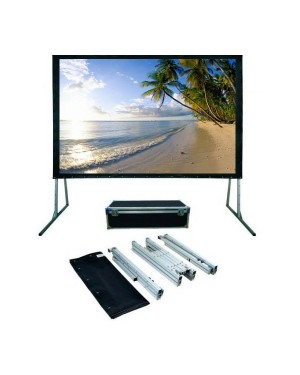 "Anchor ANFF200D 200"" Diagonal Easy Fold Projector Screen"