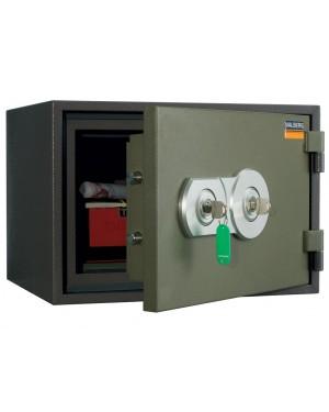 Valberg FRS-30 KL Fire Resistant Safe, 2 Key Locks, Green
