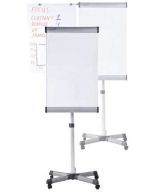 Legamaster Premium Mobile Flipchart Triangle (Lacquered Steel)