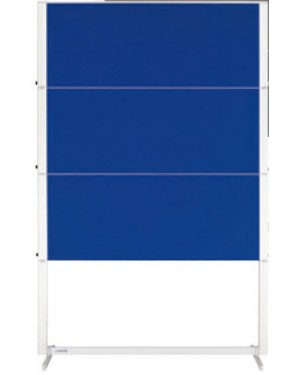 Legamaster Professional Travel Moderation Board 150x120cm Dark Blue