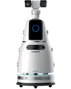 Aimbot Indoor Anti Epidemic Fight Covid-19 Robot for Health Monitoring