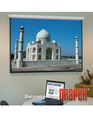 "Draper Baronet 109"" Diagonal Electrical Projector Screen"