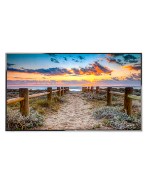 NEC 65'' E-Series Large Format Display 350cd/m2 Direct LED Backlight 12/7 MultiSync E656