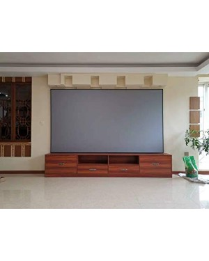 "Parelluxe 92"" Diagonal - 16:9 Aspect Ratio Ambient Light Rejecting (ALR) Fixed Frame Projector Screen"