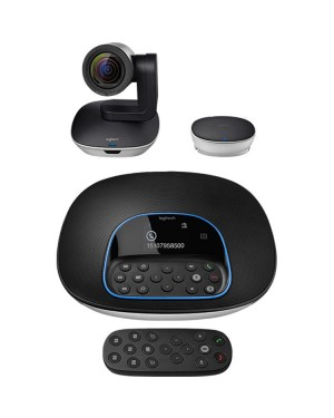 Logitech GROUP Video Conferencing System For Mid To Large Rooms