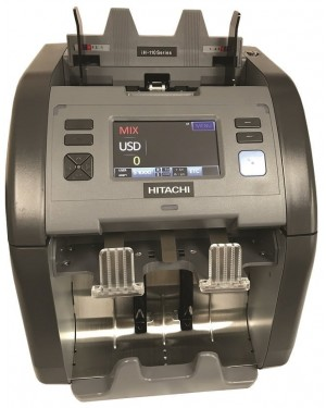 Hitachi IH-110F Cash Counting & Sorting Machine
