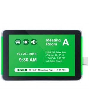 "IADEA 10"" All-In-One Meeting Room Signboard with Touch and Embedded NFC & RFID"