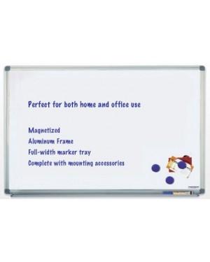 Magnetoplan Magnetic Whiteboard 90cm x 60cm