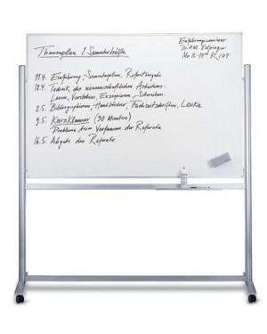 Magnetoplan Mobile Magnetic Whiteboard 200 x 100 cm