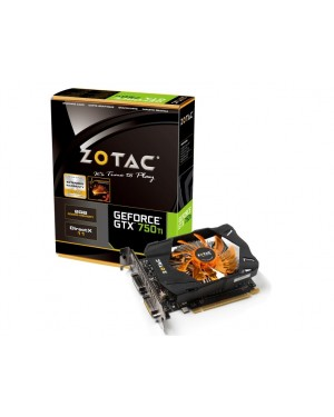 Zotac GeForce GTX 750 Ti 2GB Graphic Card