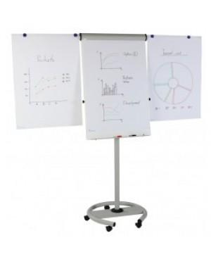 Magnetoplan Mobile Flip Chart Board 70X100cm
