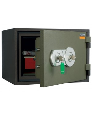 Valberg FRS-30 KL Fire Resistant Safe, 2 Key Locks, Green