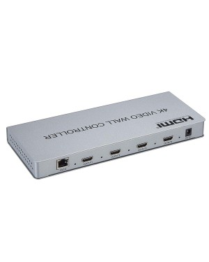 Video Wall Controller 2x2 4K Processor 1 In 4 Out HDMI