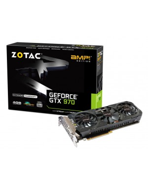 Zotac GeForce GTX 970 AMP! Edition 4GB Graphic Card
