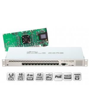 MikroTik CCR1016-12G 12x Gigabit Ethernet Cloud Router
